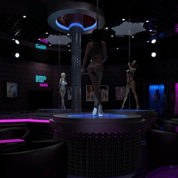 3ds max strip club
