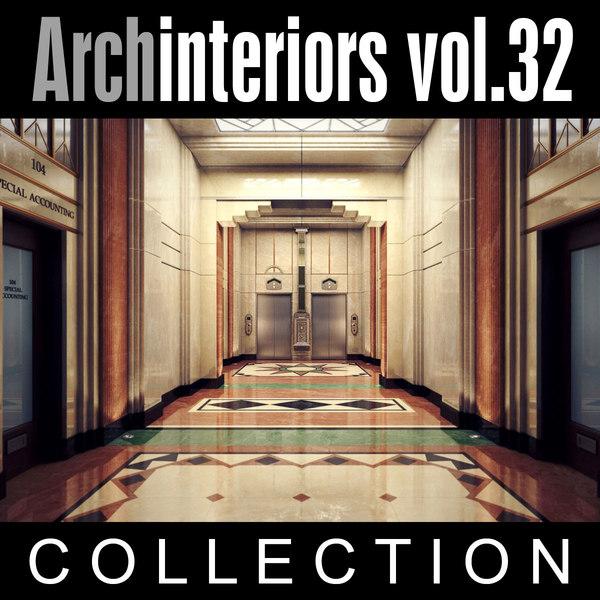 3d archinteriors vol 32 art deco model