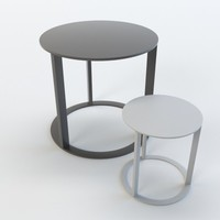 B&B ITALIA FRANK SIDE TABLE