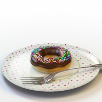 donut 08 3d model