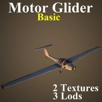 3d motor basic model