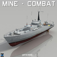 countermeasures ship 3d 3ds