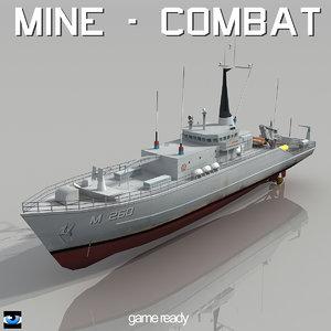 countermeasures ship 3d 3ds