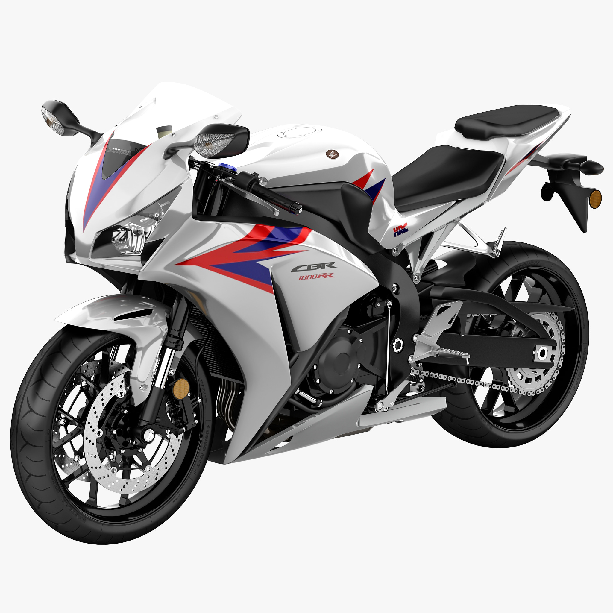 3ds max motorcycle honda cbr1000rr