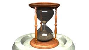 sand clock sandclock 3d max