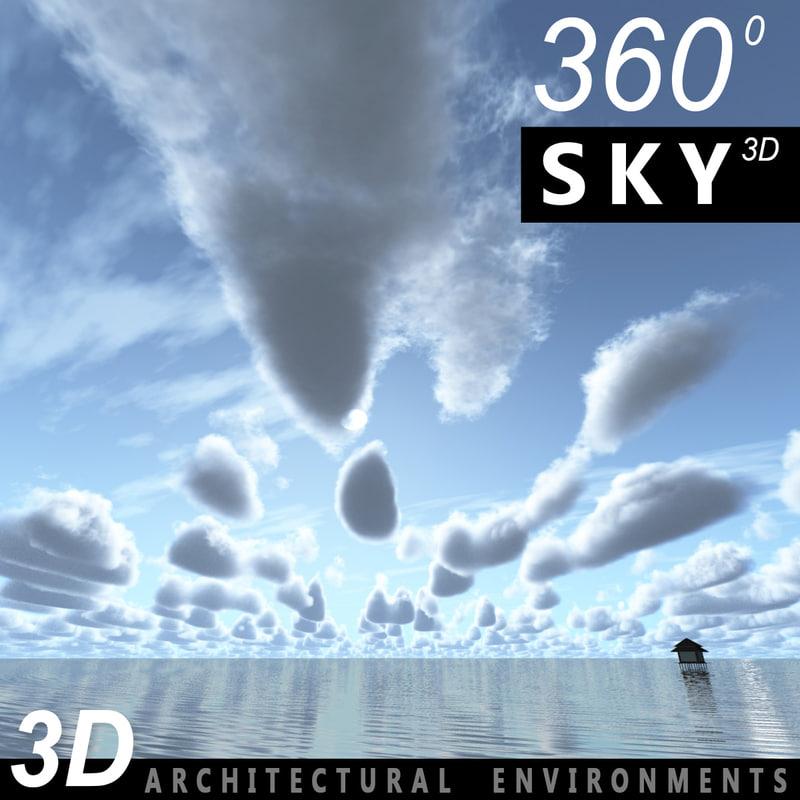 3ds sky clouds