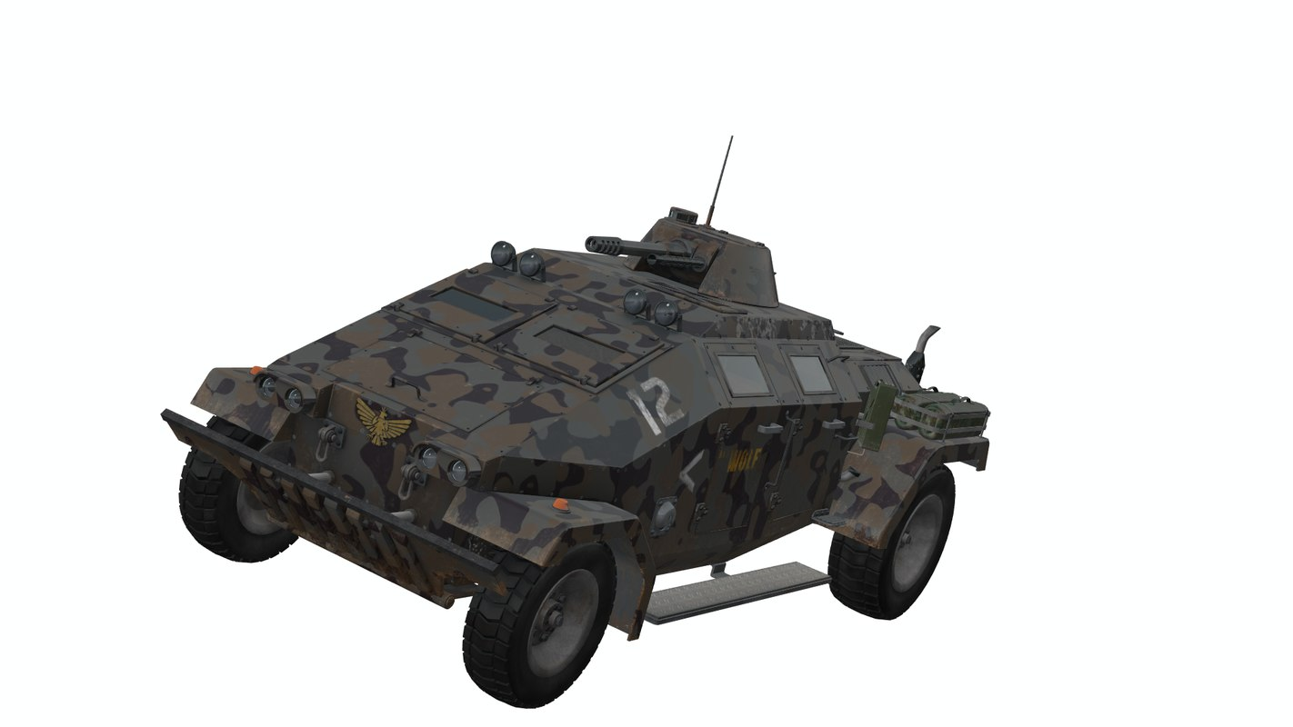 3d army vehicle