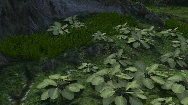 leaves 3d model