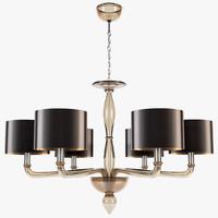 Villaverde - Murano luna chandelier