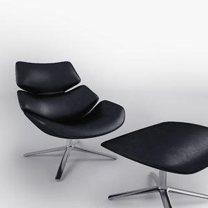 shrimp armchair designed max