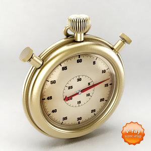 3ds vintage chronometer