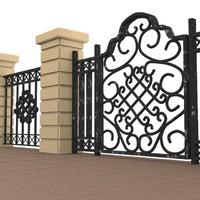 gate 3d max