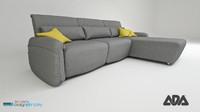Ada Navy sofa