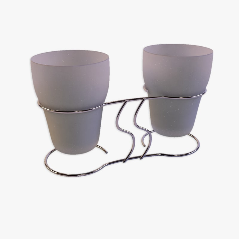 max bathroom cup holder