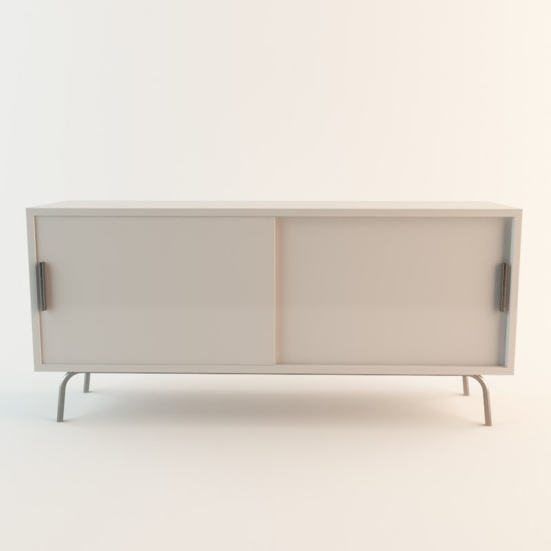 3d model ikea ps cabinet