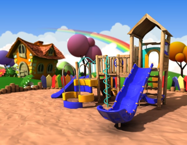 Playground 3D Models for Download | TurboSquid