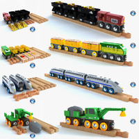 Kids train toy collection