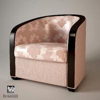 3d model turri genesis chair