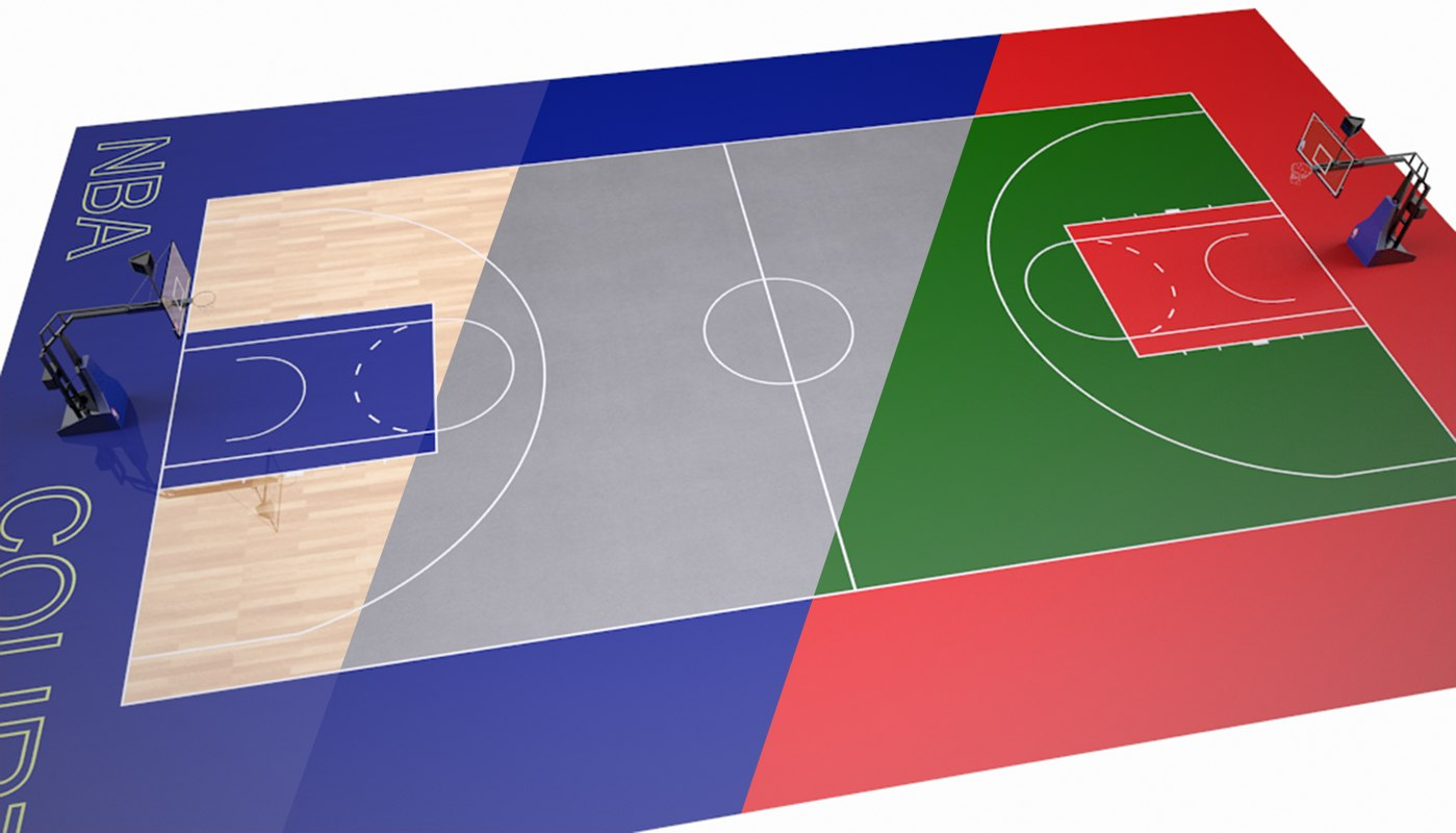 3ds max basketball court