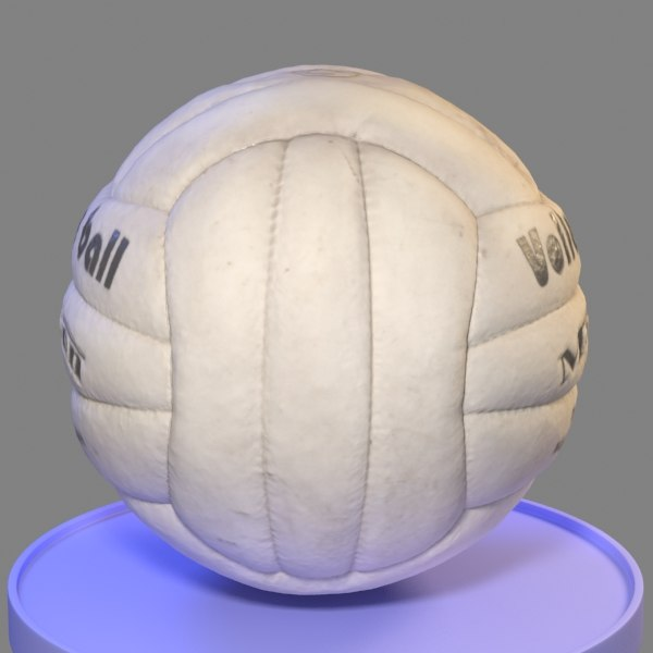 3ds max volleyball ball