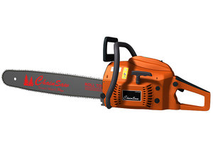 chainsaw chain saw 3d 3ds