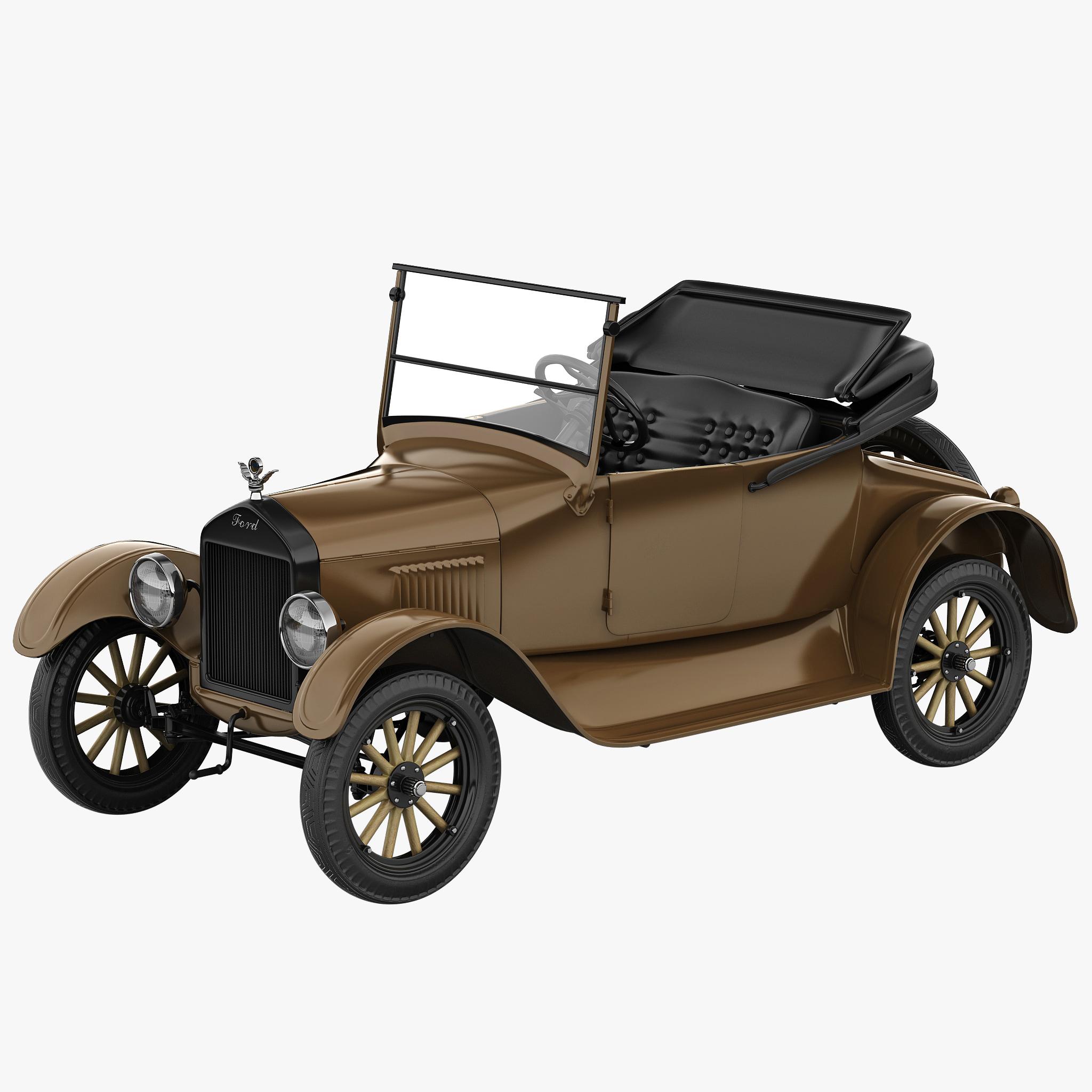 3d model t 2 modeled