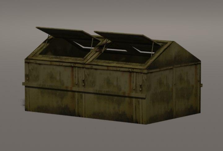 maya dumpster