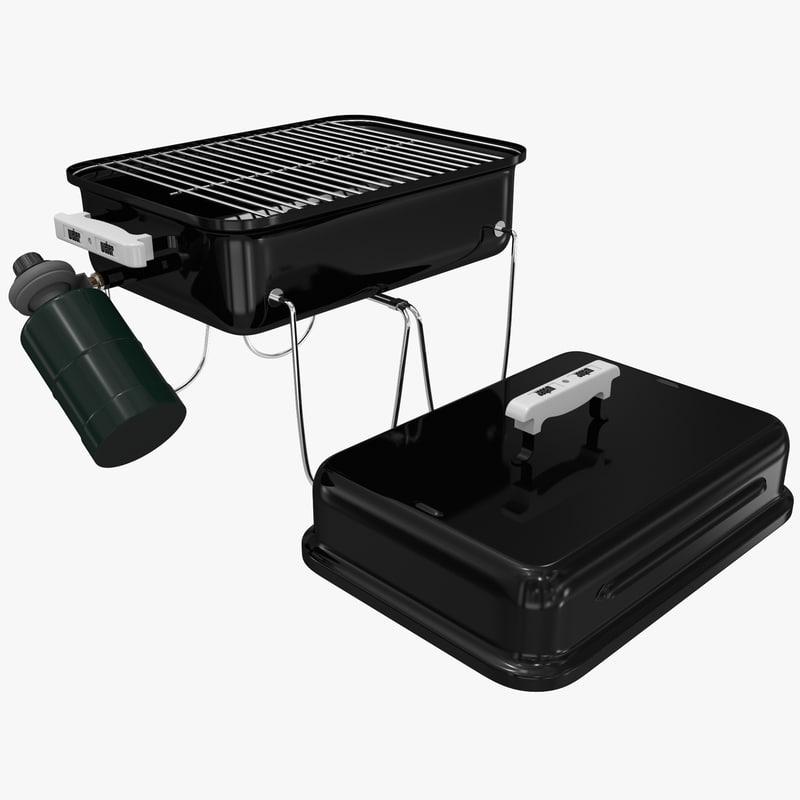 Vellidte gas grill weber 1520 3d model UW-41