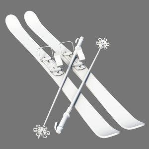 ski board 3d model