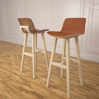 kuskoa bar stool alki 3ds