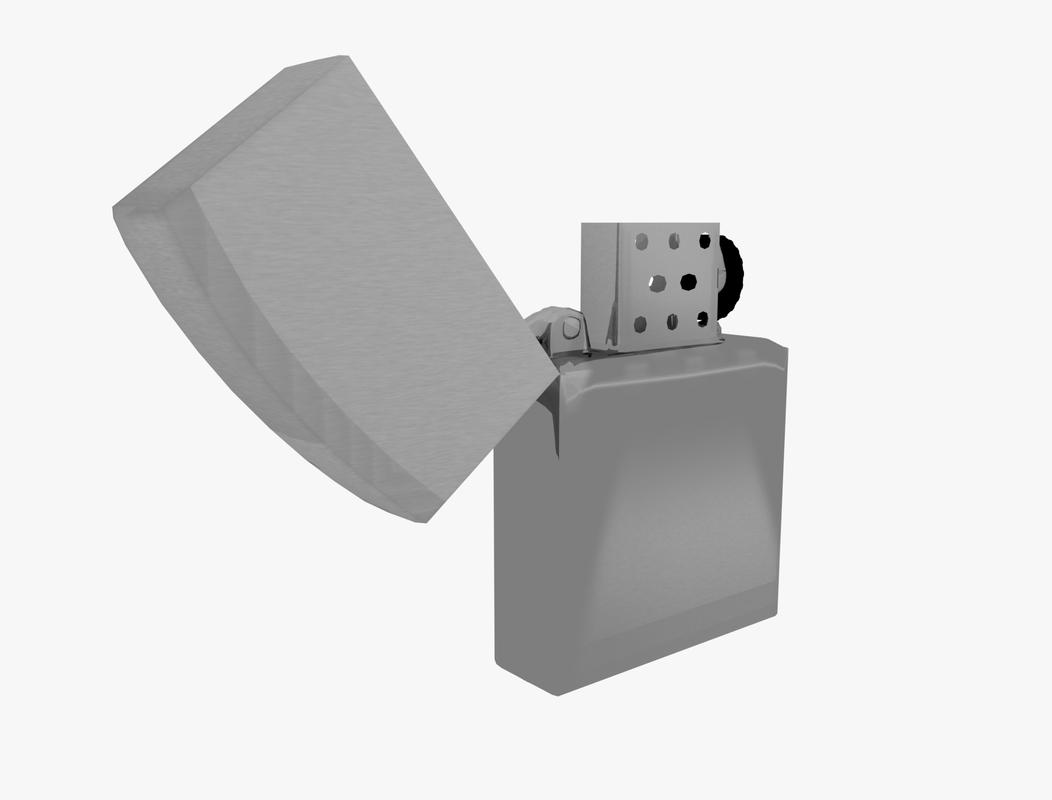 zippo lighter 3d 3ds