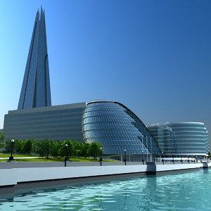 london buildings 3ds
