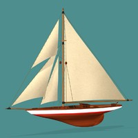 3d racing yacht wc