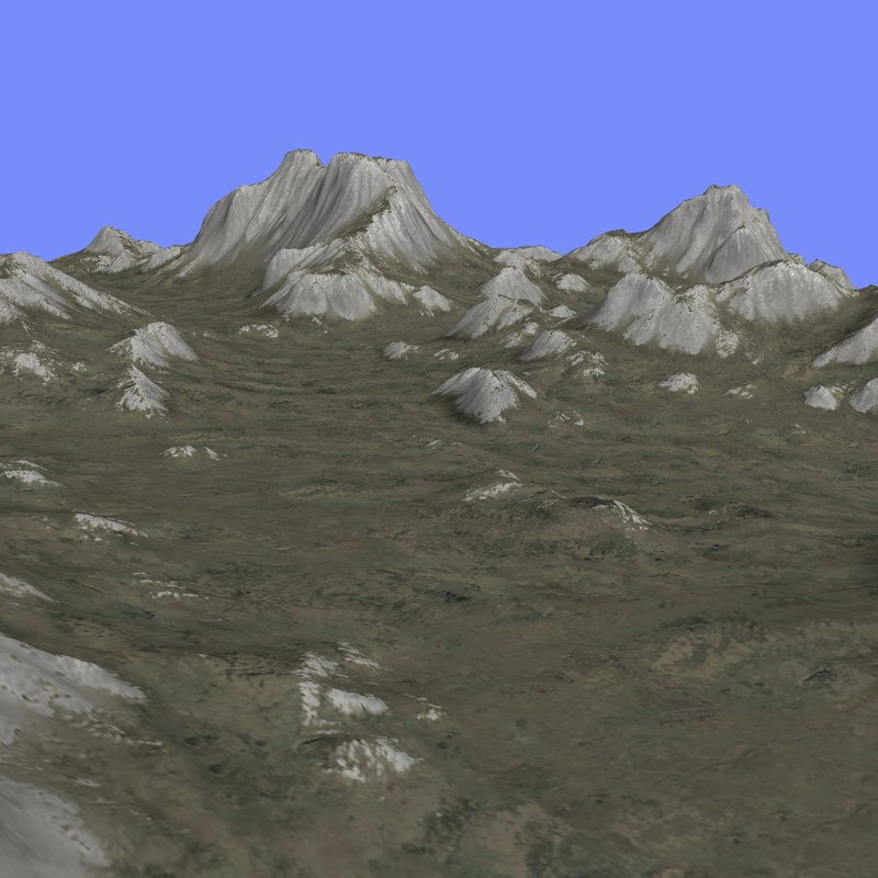 grounded terrain tm1-01 3d max