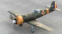 3d model iar romanian aircraft