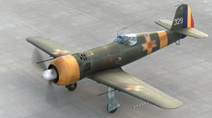 3d model iar romanian aircraft