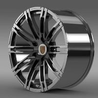 porsche 911 turbo 2013 3d model