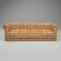 3d boxter sofa model