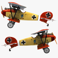 Biplane Fighter Aircraft Albatros D III