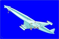 The LAPCAT A2 Hypersonic Aircraft Solid Assembly Model