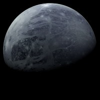pluto planets 3d model