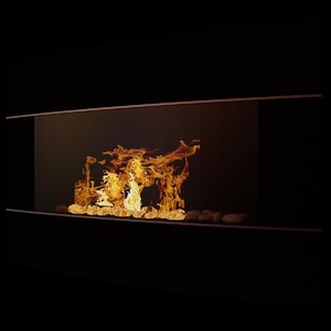 3d electric fireplace bef6500-i