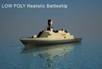 milgem modern battleship 3d x
