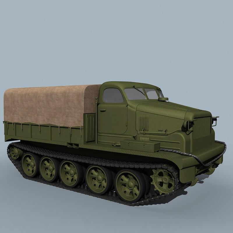 at-t soviet heavy 3d model