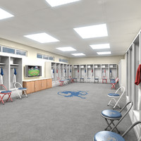 Lockers Room