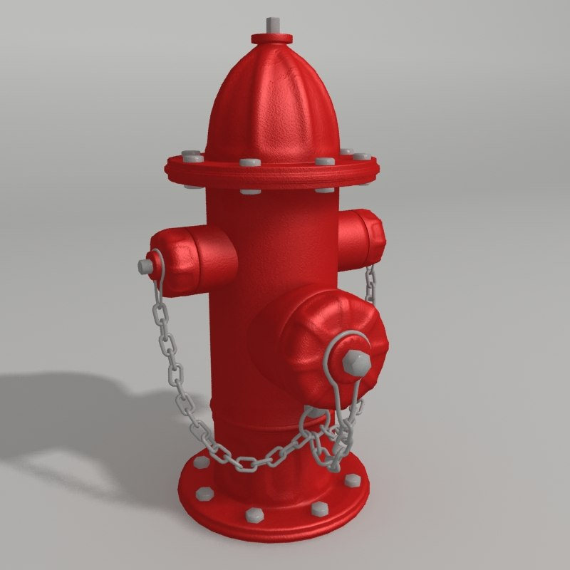 3ds water hydrant chains