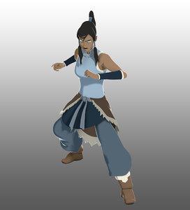 avatar korra 3d fbx