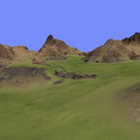 3d metay terrain km-10 model