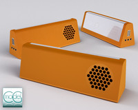3d model small portable radio