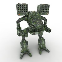 Army Mech Warrior Robot V4